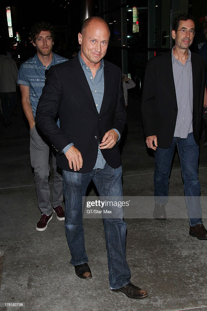 Mike Judge sighted on July 31, 2013 in Los Angeles, California.