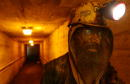 Mike Kasavich a lifelong coal miner exits 'the hole' after a 10 hour morning shift August 26 2001 at the Mathies coal mine in western PA The Mathies...