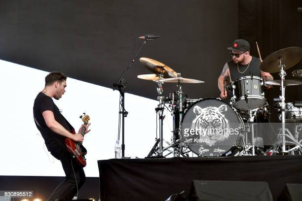 Mike Kerr and Ben Thatcher of Royal Blood perform on Lands End stage during the 2017 Outside Lands Music And Arts Festival at Golden Gate Park on...