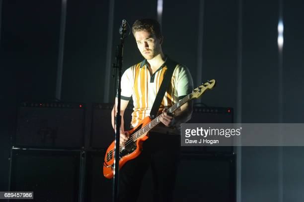 Mike Kerr of the band Royal Blood attends Day 2 of BBC Radio 1's Big Weekend 2017 at Burton Constable Hall on May 28 2017 in Hull United Kingdom