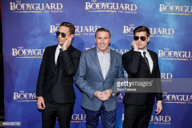 Mike Larkin during a production media call for The Bodyguard at Regent Theatre on August 29 2017 in Melbourne Australia