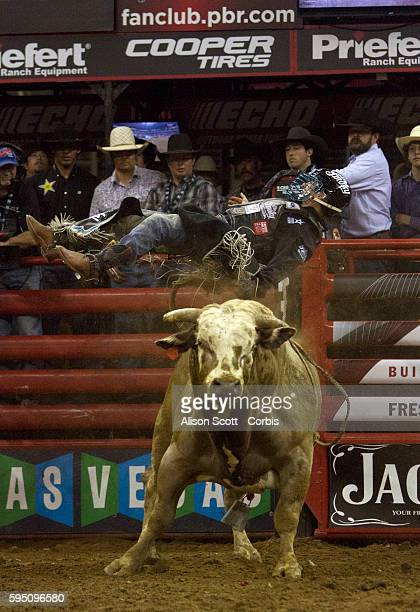 Mike Lee gets thrown from the bull Dream Catcher Lee was bucked off in 271 seconds at the Built Ford Tough Series Professional Bull Riding event in...