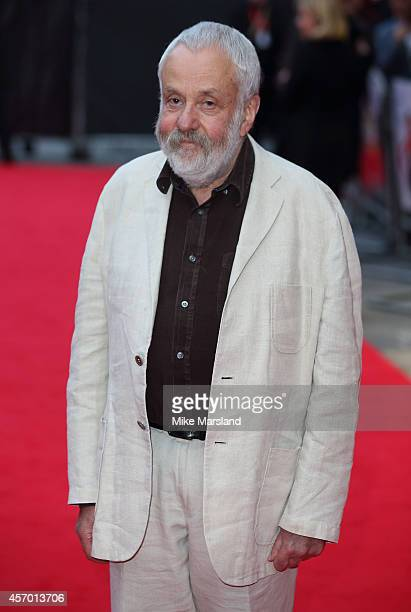 Mike Leigh attends a screening of 'Mr Turner' during the 58th BFI London Film Festival at Odeon West End on October 10 2014 in London England