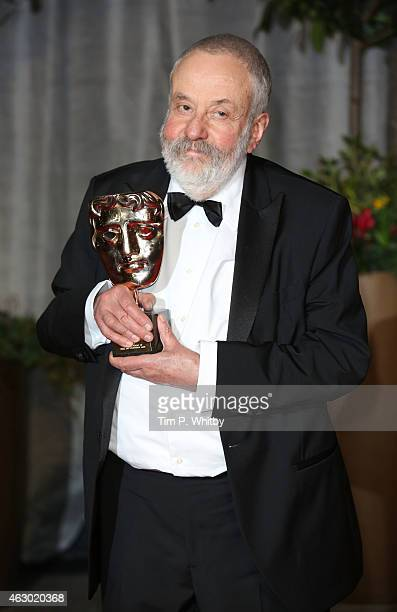 Mike Leigh attends the after party for the EE British Academy Film Awards at The Grosvenor House Hotel on February 8 2015 in London England