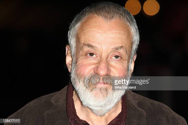 Mike Leigh attends the film premiere 'Another Year' at the 54th BFI London Film Festival at Odeon Leicester Square on October 18 2010 in London...