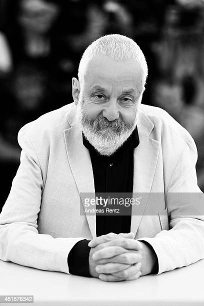 Mike Leigh is photographed at the The 67th Annual Cannes Film Festival on May 14 2014 in Cannes France
