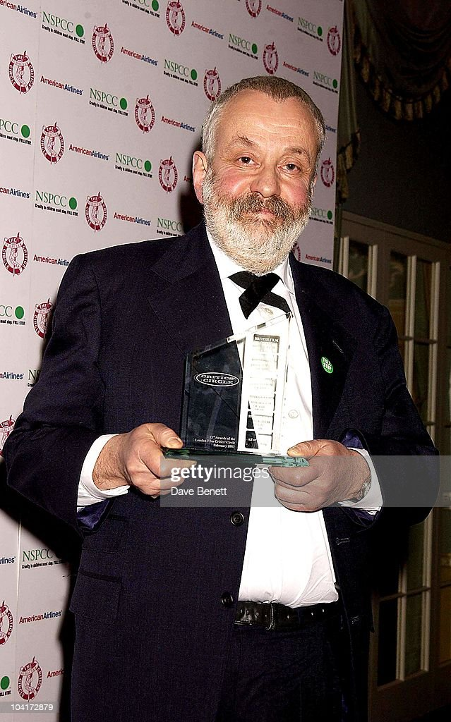 Mike Leigh, The Critics Circle Awards In Aid Of Nspcc Held At The Dorchester Hotel In London
