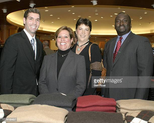 Mike Letizia District Manager Eloise Cordasco VP of Stores for Brooks Brothers Diane St Martin Director of Operaions for RBA Barry Hundley Store...