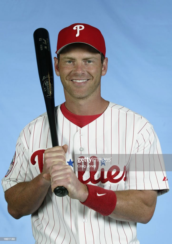 Mike Lieberthal of the Philadelphia Phillies poses for a portrait during the Phillies Media Day at Jack Russell Stadium in Clearwater Florida