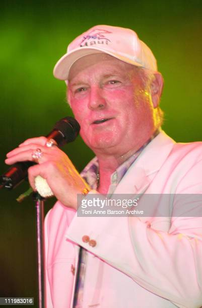 Mike Love of The Beach Boys during Red Cross Ball 2001 Beach Boys Performance at MonteCarlo Sporting Club in MonteCarlo Monaco