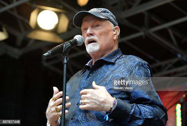 Mike Love of The Beach Boys performs during 'FOX Friends' All American Concert Series outside of FOX Studios on June 3 2016 in New York City