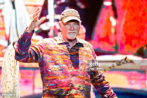 Mike Love of The Beach Boys performs in concert during the Festival Jardins de Pedralbes on June 20 2017 in Barcelona Spain