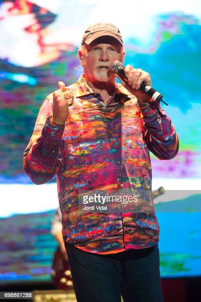 Mike Love of The Beach Boys performs on stage during Festival Jardins de Pedralbes at Jardins de Pedralbes on June 20 2017 in Barcelona Spain