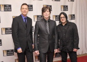 Mike Malinin Johnny Rzeznik and Robby Takac of the band Goo Goo Dolls attend The Creative Coalition's 2013 Inaugural Ball at the Harman Center for...