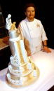 Mike McCarey of Mike's Amazing Cakes of Redmond Washington wins first place During the First Annual Pastry Competition June 14 2003 in Beavercreek...