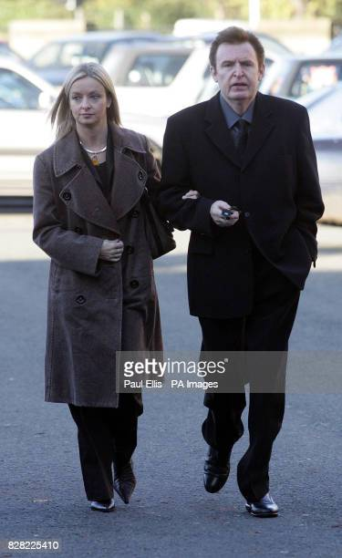 Mike McCartney the brother of former Beatle Paul McCartney arrives at Chester Crown Court with his partner Thursday 17 November 2005 accused of...