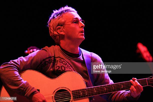 Mike McCready of Pearl Jam during 20th Annual Bridge School Benefit Concert Day One at Shoreline Amphitheatre in Mountain View California United...