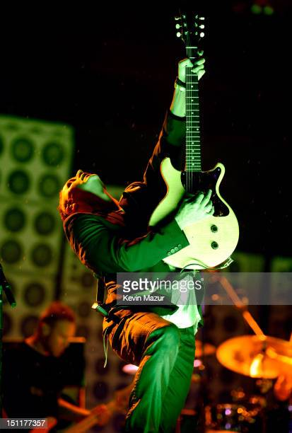 Mike McCready of Pearl Jam performs during Budweiser Made In America Festival Benefiting The United Way Day 2 at Benjamin Franklin Parkway on...