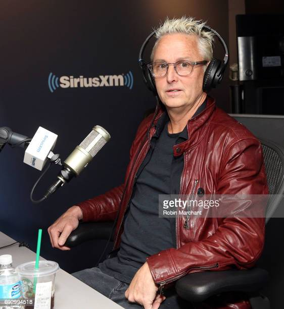 Mike McCready of Pearl Jam visits 'Feedback' on SiriusXM's VOLUME channel at SiriusXM Studios on June 6 2017 in New York City