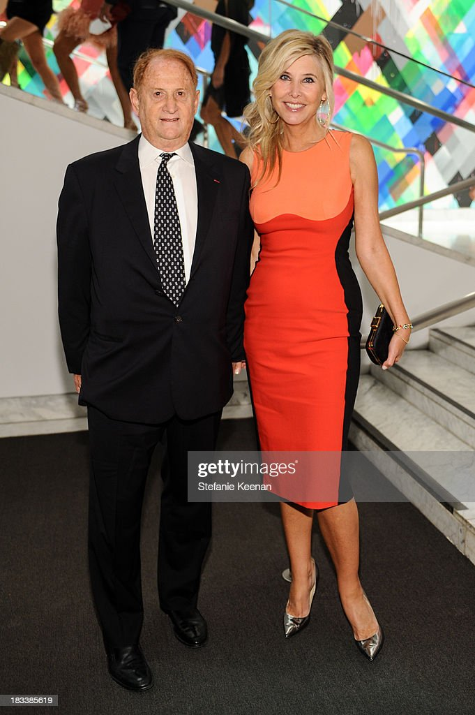 Mike Medavoy and Irena Medavoy attend Hammer Museum 11th Annual Gala In The Garden With Generous Support From Bottega Veneta, October 5, 2013, Los Angeles, CA at Hammer Museum on October 5, 2013 in Westwood, California.