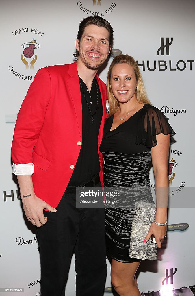 Mike Miller and Jennifer Miller attend the Miami HEAT Family Foundation night of 'Motown Revue' on February 27, 2013 in Miami, Florida.