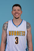Mike Miller of the Denver Nuggets poses for a head shot on October 15 2015 at the Pepsi Center in Denver Colorado NOTE TO USER User expressly...