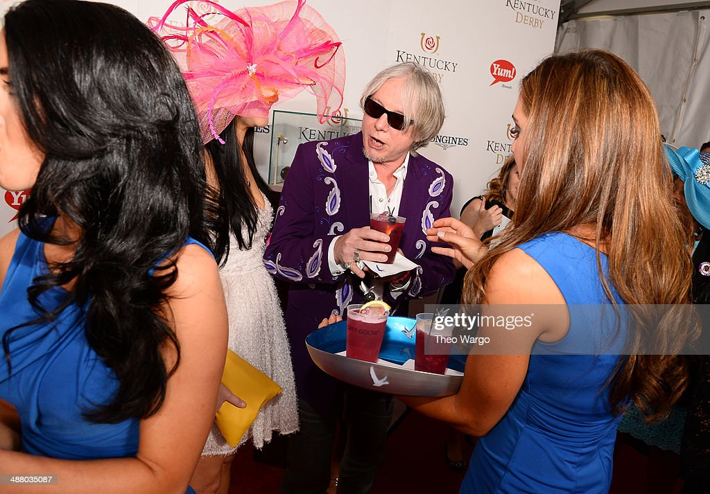 Mike Mills of R.E.M at GREY GOOSE Lounge at 140th Kentucky Derby at Churchill Downs on May 3, 2014 in Louisville, Kentucky.