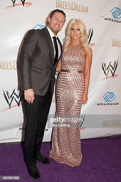 Mike Mizanin aka The Miz and Maryse Ouellet attend WWE's 2014 SuperStars For Kids at the New Orleans Museum of Art on April 3 2014 in New Orleans City
