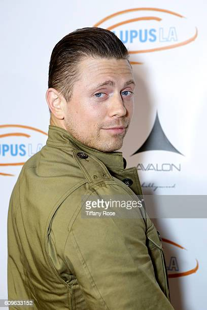 Mike Mizanin attends the Get Lucky for Lupus LA Celebrity Poker Tournament at Avalon on September 21 2016 in Los Angeles California