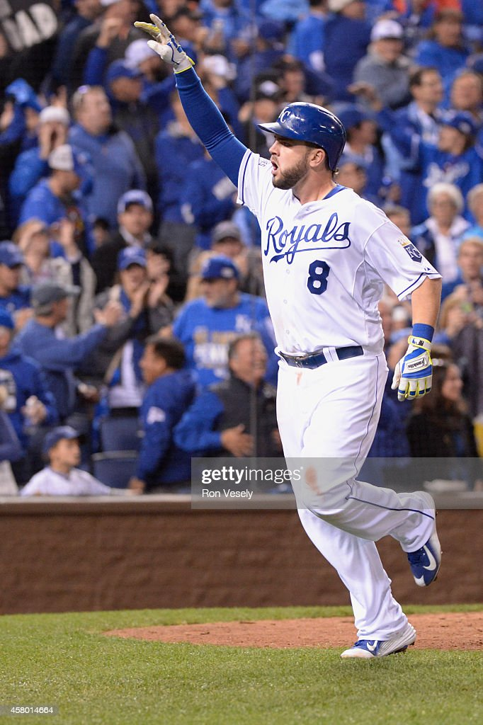 Image result for moustakas home run game 6 world series 2014