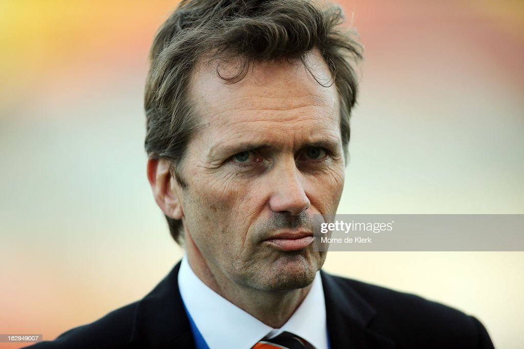 Mike Mulvey of Brisbane looks on after the round 23 A-League match between Adelaide United and the Brisbane Roar at Hindmarsh Stadium on March 2, 2013 in Adelaide, Australia.