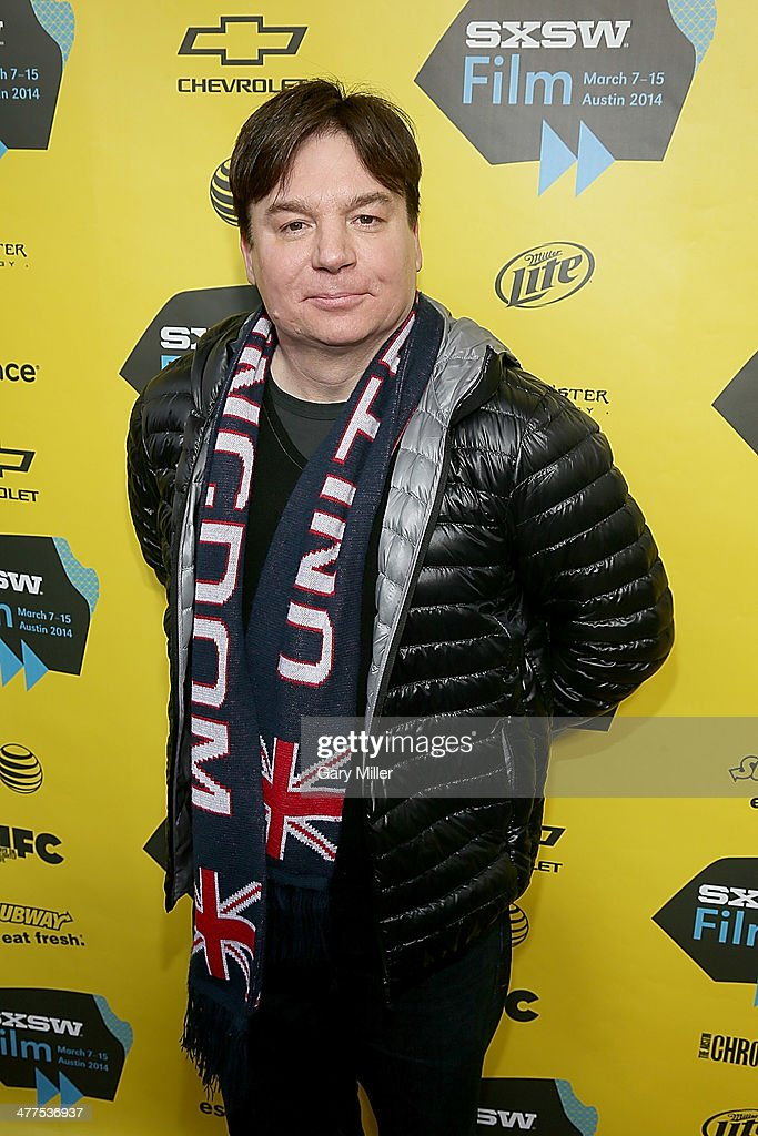 Mike Myers walks the red carpet for the premiere of his new film 'Supermensch' during the South By Southwest Film Festival on March 9, 2014 in Austin, Texas.