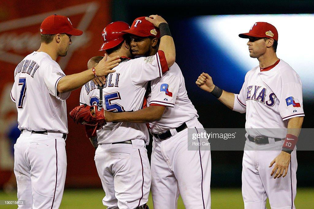 2011 World Series Game 5 - St Louis Cardinals v Texas Rangers
