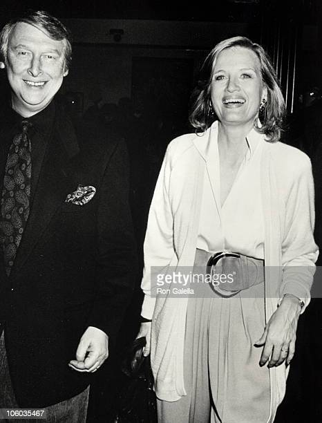 Mike Nichols and Diane Sawyer during 'In the Spirit' New York City Premiere at Loews Tower East Theater in New York City New York United States