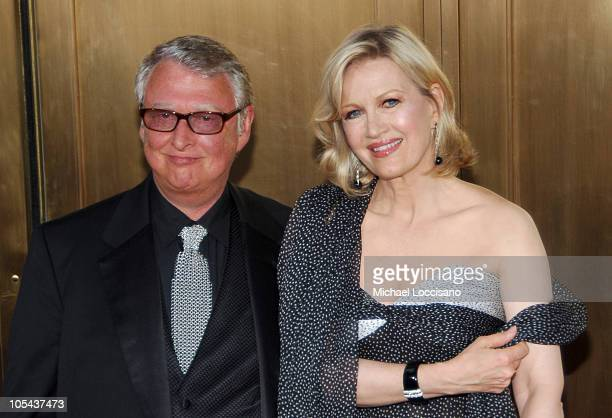 Mike Nichols nominee Best Direction of a Musical for 'Monty Python's Spamalot' and Diane Sawyer