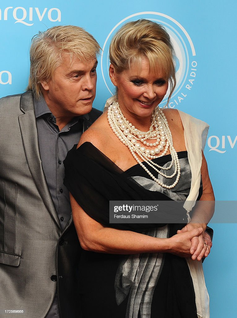 Mike Nolan and Cheryl Baker attend the Arqiva Commercial Radion Awards at Park Plaza Westminster Bridge Hotel on July 3, 2013 in London, England.