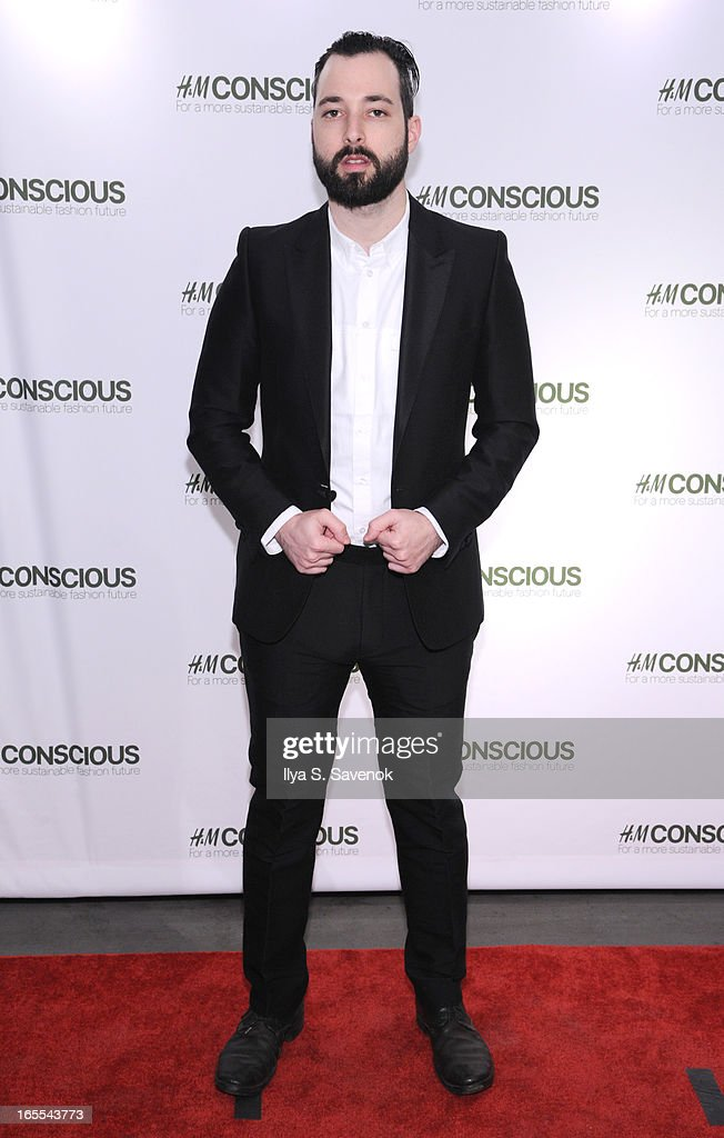 DJ Mike Nouveau attends the H&M's Conscious Collection Launch Event at H&M Fifth Avenue on April 4, 2013 in New York City.