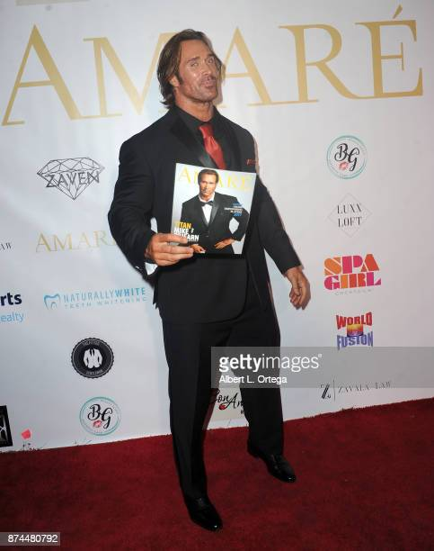 Mike O'Hearn attends Amare Magazine Presents A Black Tie Event featuring cover model Mike O'Hearn held at Hangar 21 on November 14 2017 in Fullerton...