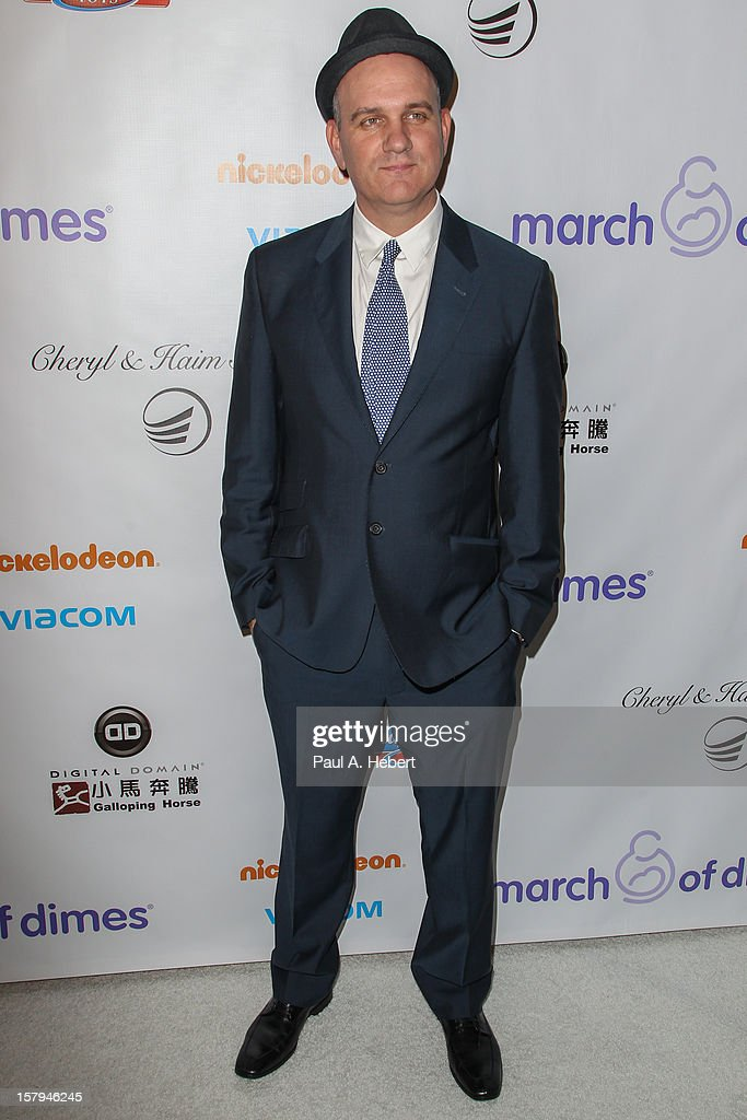 Mike O'Malley arrives at the March Of Dimes' Celebration Of Babies held at the Beverly Hills Hotel on December 7, 2012 in Beverly Hills, California.