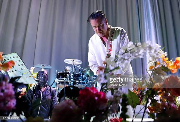 Mike Patton of Faith No More performs at The Roundhouse on June 18 2015 in London England