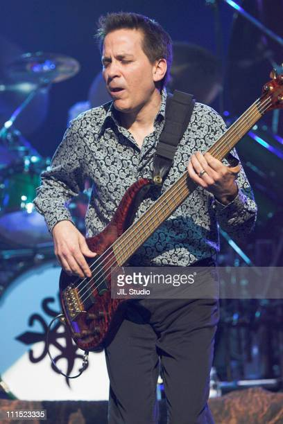Mike Porcaro of TOTO during TOTO in Concert at the Tokyo International Forum May 8 2006 at Tokyo International Forum in Tokyo Japan