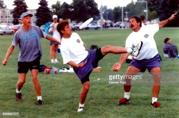 Mike Reid Jon Willett and Bill Wright practice a routine in prep for competition Credit Denver Post