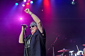 Mike Reno of Loverboy performs in concert at the Cedar Park Center on October 22 2015 in Cedar Park Texas