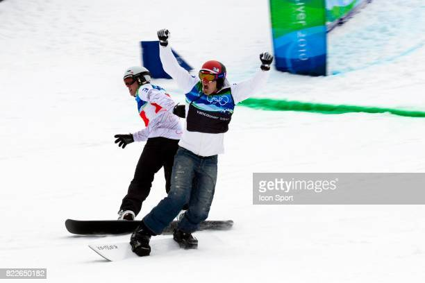 Mike Robertson / Victoire Seth Wescott Snowboard Cross Cypress Mountain Jeux Olympiques 2010 Vancouver