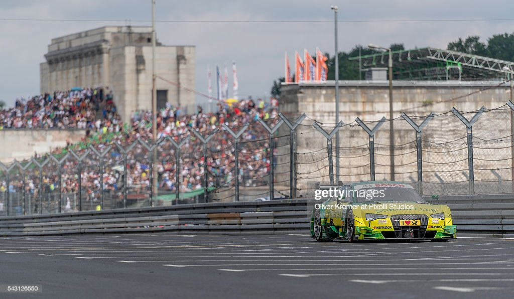 Mike Rockenfeller (GER) of Audi Sport Team Phoenix qualifying for the German Touring Car Championship at the Norisring during Day 2 of the 74. International ADAC Norisring Speedweekend on June 26, 2016 in Nuremberg, Germany.