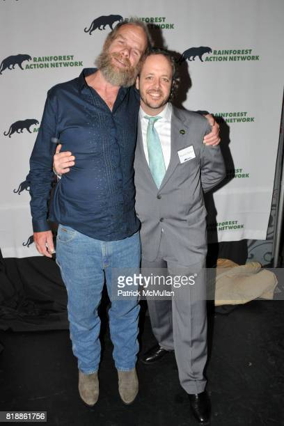 Mike Roselle and Branden Barber attend RAINFOREST ACTION NETWORK's 25th Anniversary Benefit Hosted by CHRIS NOTH at Le Poisson Rouge on April 29 2010...