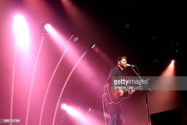 Mike Rosenberg aka Passenger performs at Heineken Music Hall on October 27 2013 in Amsterdam Netherlands
