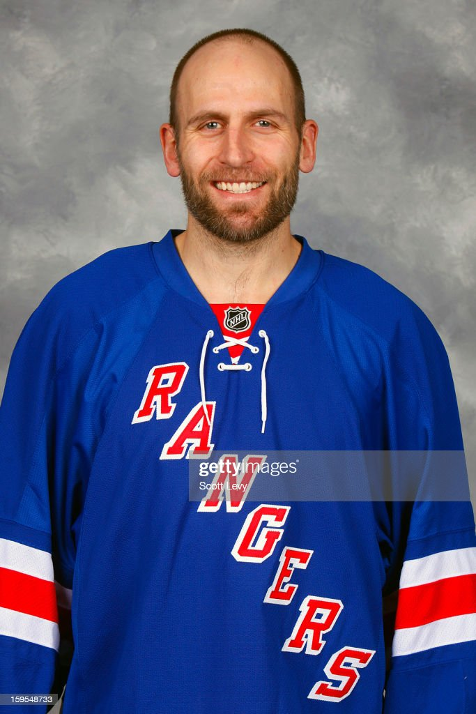 Mike Rupp #17 of the New York Rangers poses for his official head shot for the 2012-2013 season on January 13, 2013 at the Madison Square Garden Training Center in Tarrytown, New York.