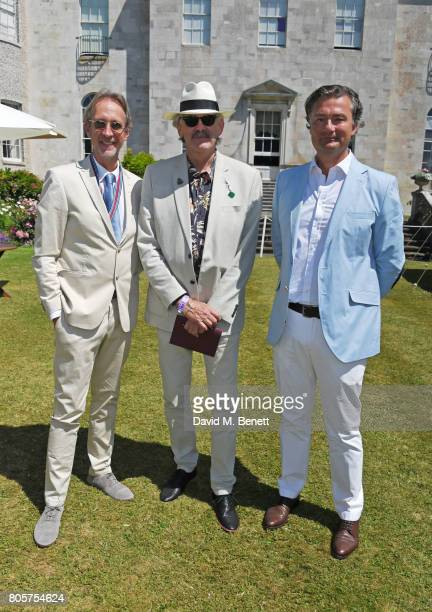 Mike Rutherford Gordon Murray and Laurent Feniou attend Cartier Style Et Luxe at the Goodwood Festival Of Speed on July 2 2017 in Chichester England