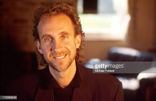 Mike Rutherford of Genesis portrait London 1993